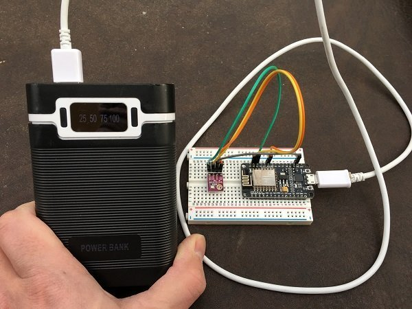 Arduino Weather Station for Weather Underground